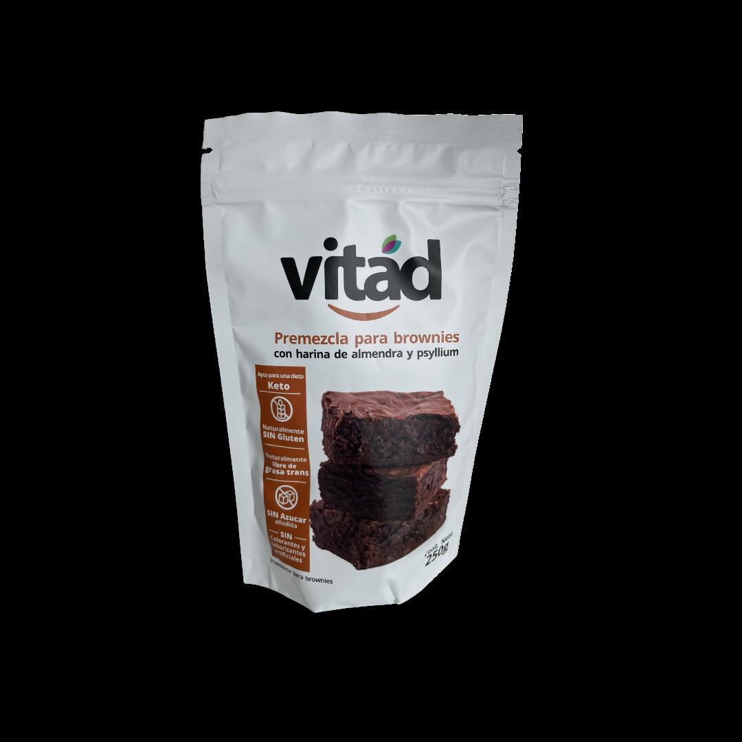 Premezcla keto brownies 250 gr