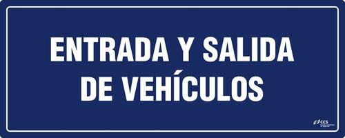 SEÑAL COVID-19 ENTRADA Y SALIDA DE VEHÍCULOS