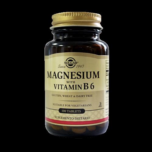 Magnesium vit B6   100 tab