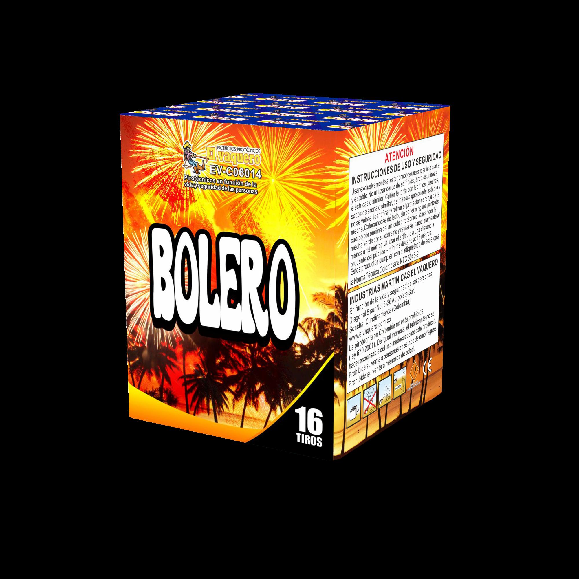 Torta Bolero 16 tiros 0.8