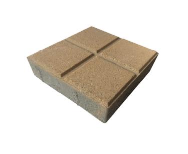 Bloque de Concreto para Pisos 20X20X6 Cuadrático, Tráfico Peatonal y Vehicular Liviano.
