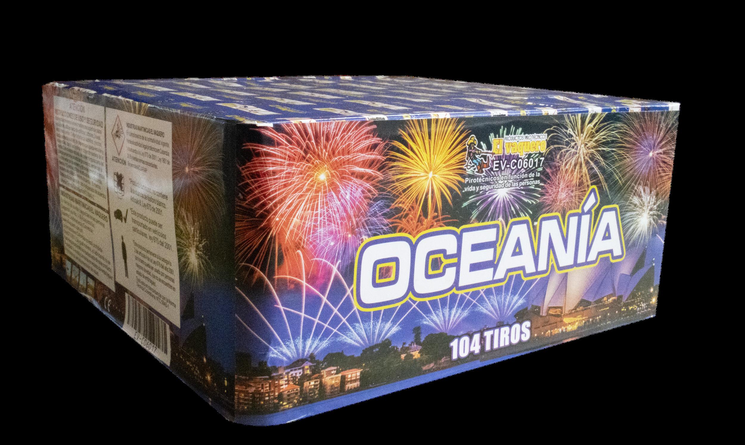 Torta Oceania 104  tiros 0.8