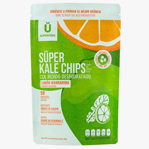 Super Kale Chips - limóny mandarina