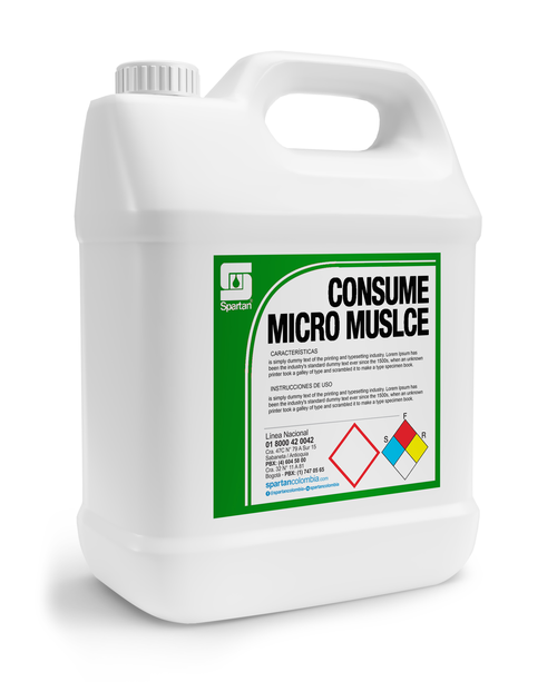 CONSUME MICRO MUSCLE GALON