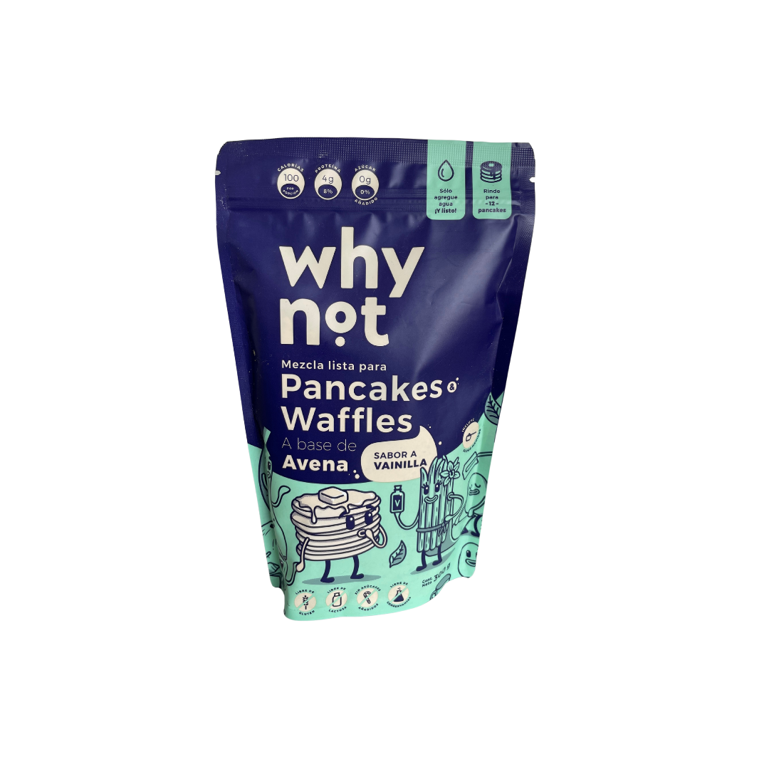 Mezcla pancakes waffles vaini 300 gr