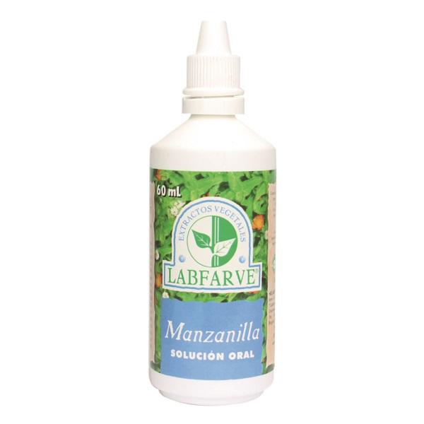 Manzanilla flores gotas   60 ml