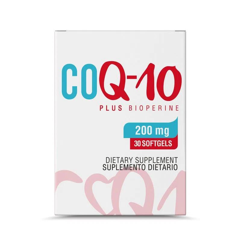 Coenzima Q10 200 mg  30 sof