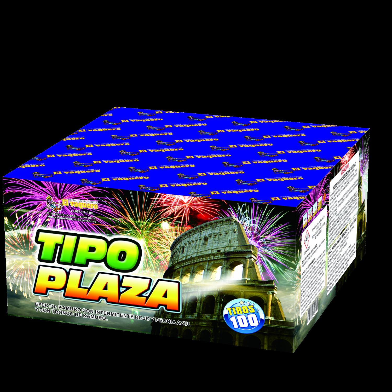 Torta Tipo plaza de 100 tiros 1.2