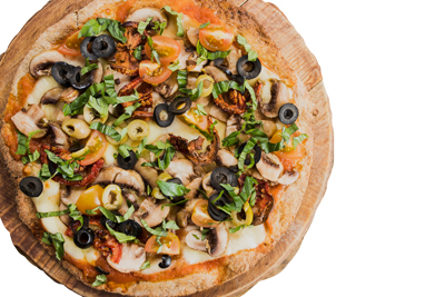 Masa congelada pizza integral (x4 unidades)