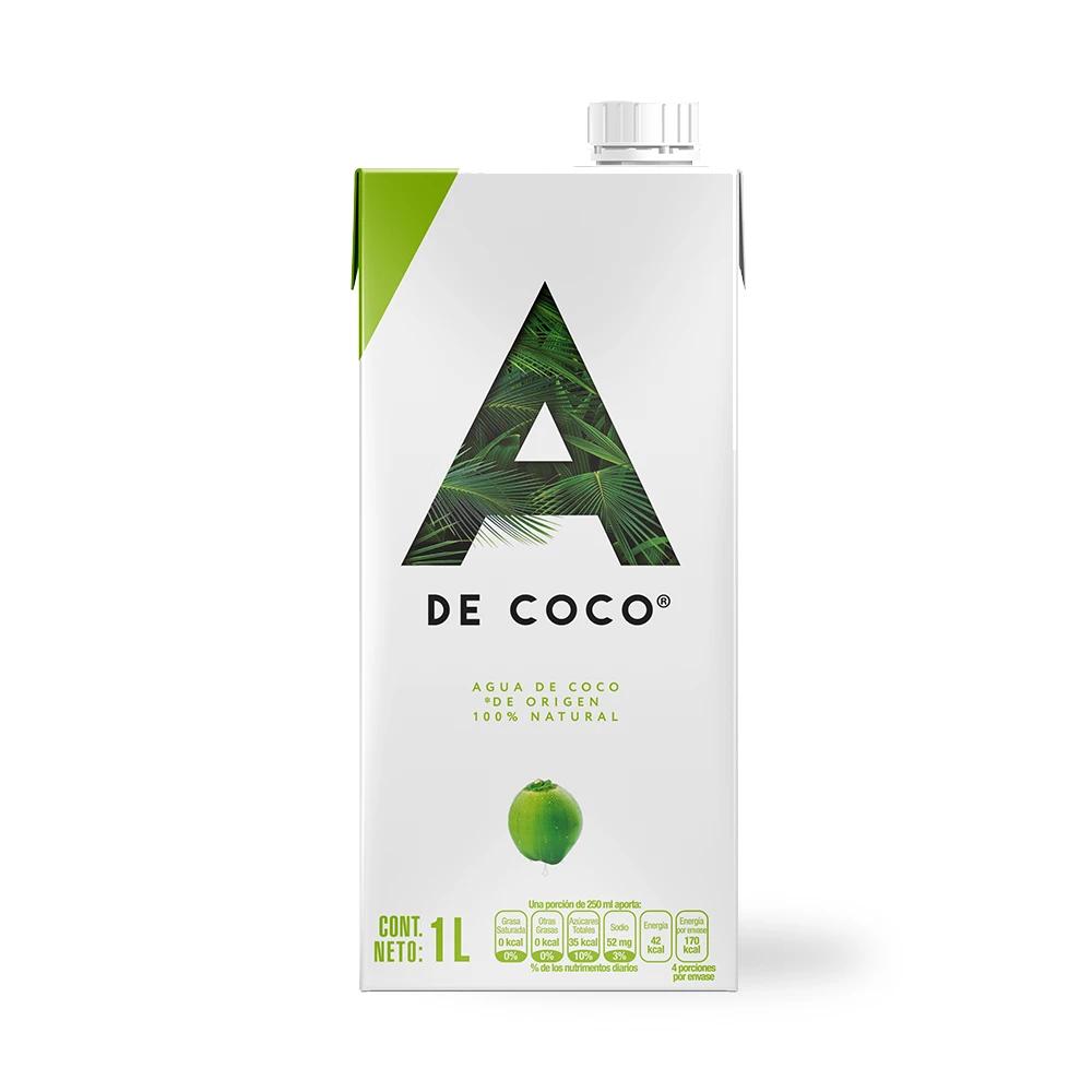 Agua coco A  1 L
