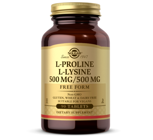 L Proline L Lysine 500/500 mg 90 tab