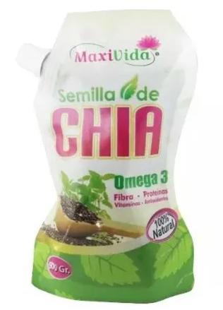 Chia semilla MaxiVida  500 gr