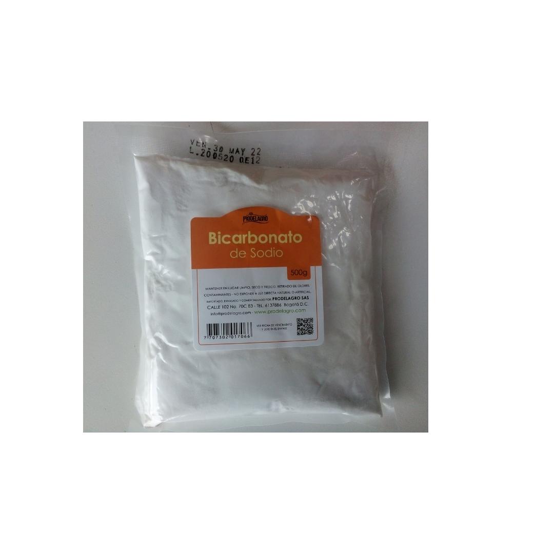 Bicarbonato de sodio 500 gr