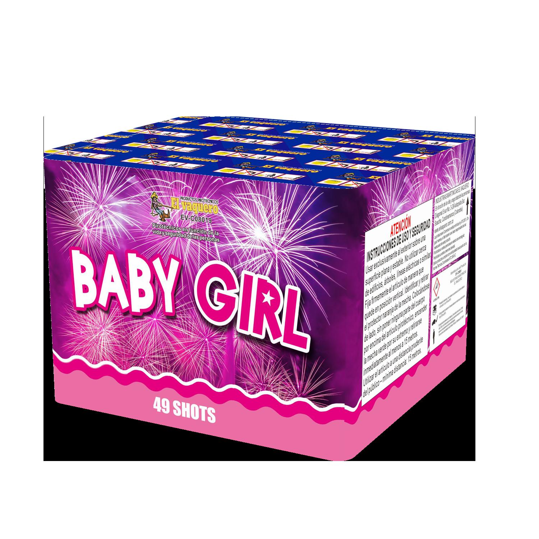 Torta Baby Girl 49 Tiros