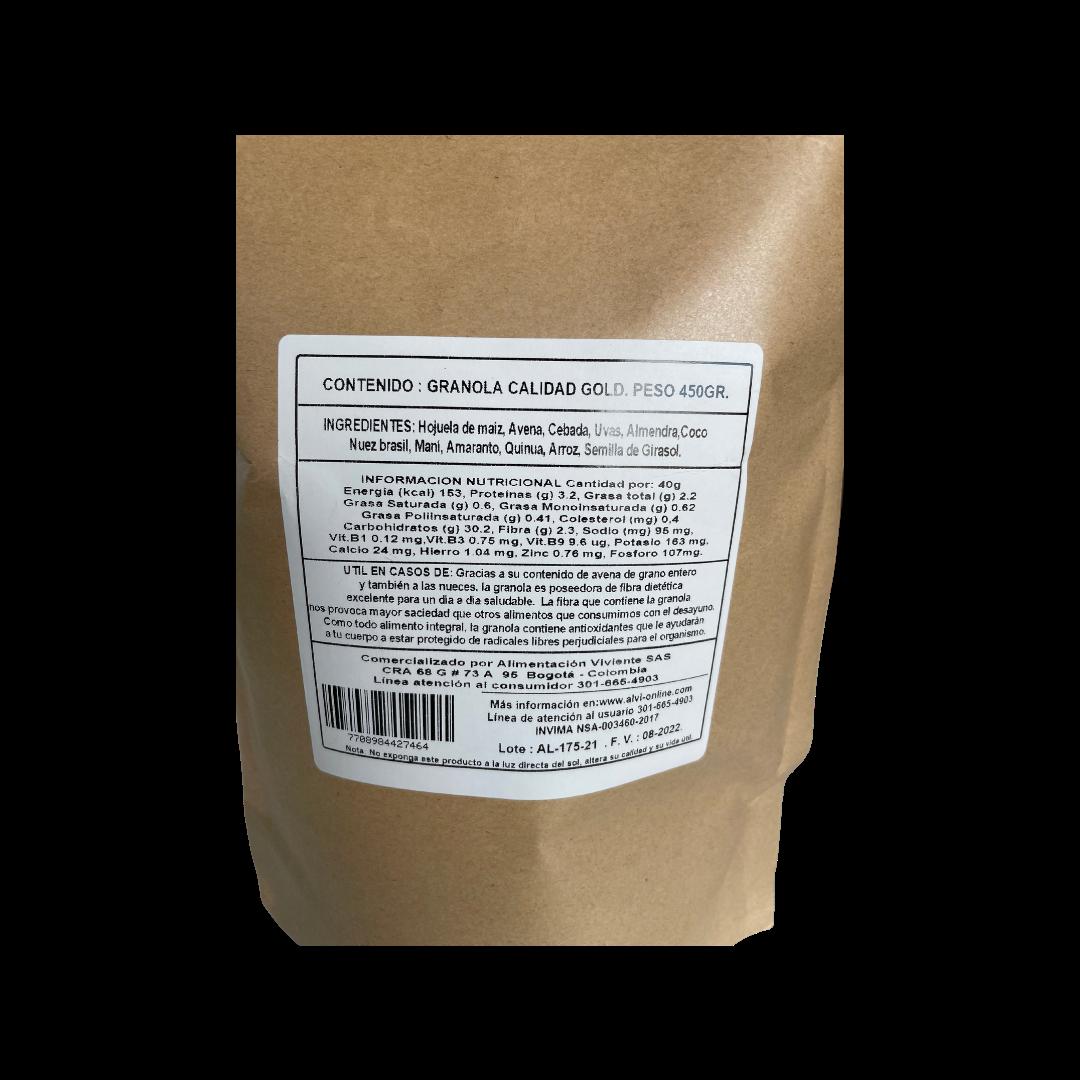 Granola gold  450 gr