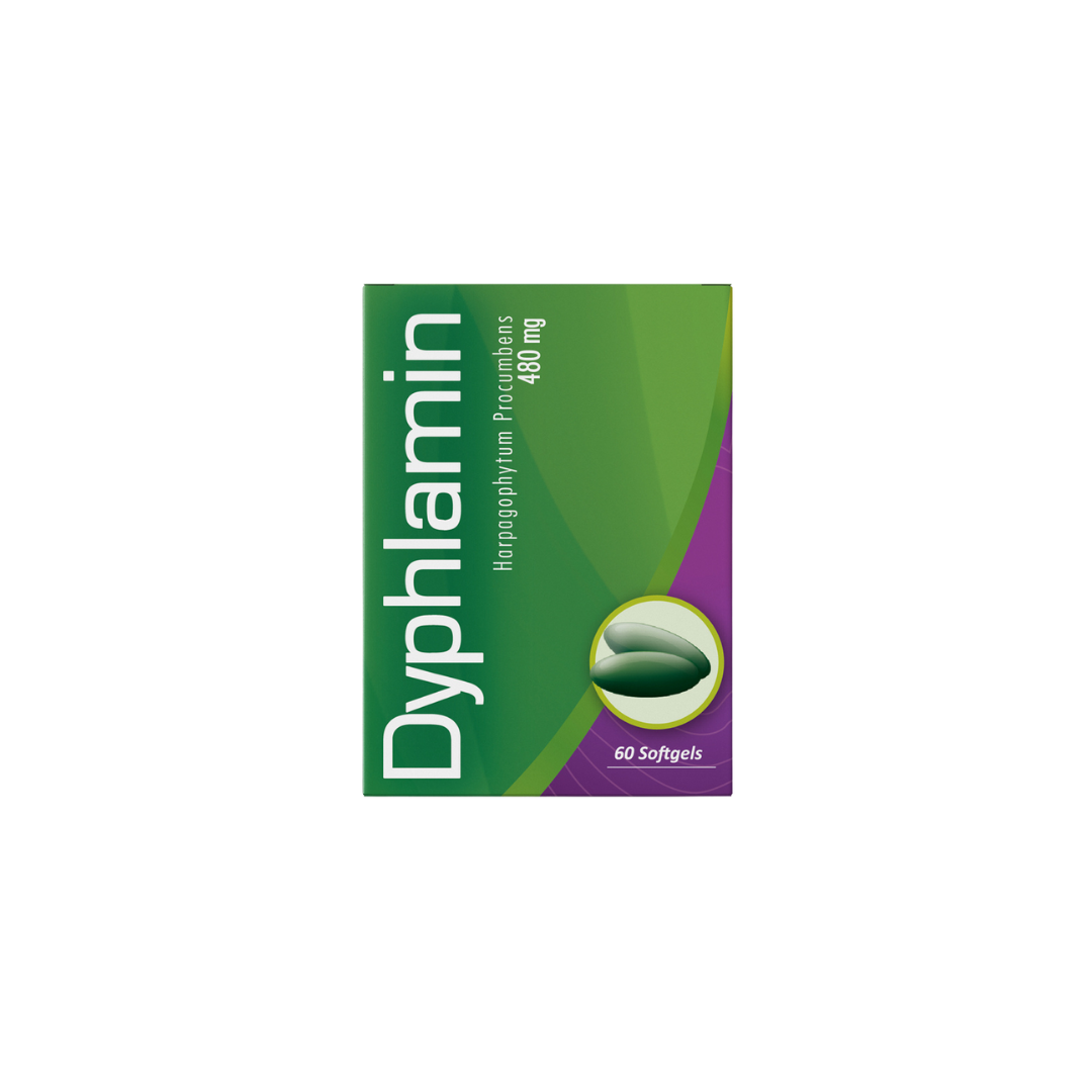 Dyphlamin 480 mg  60 soft