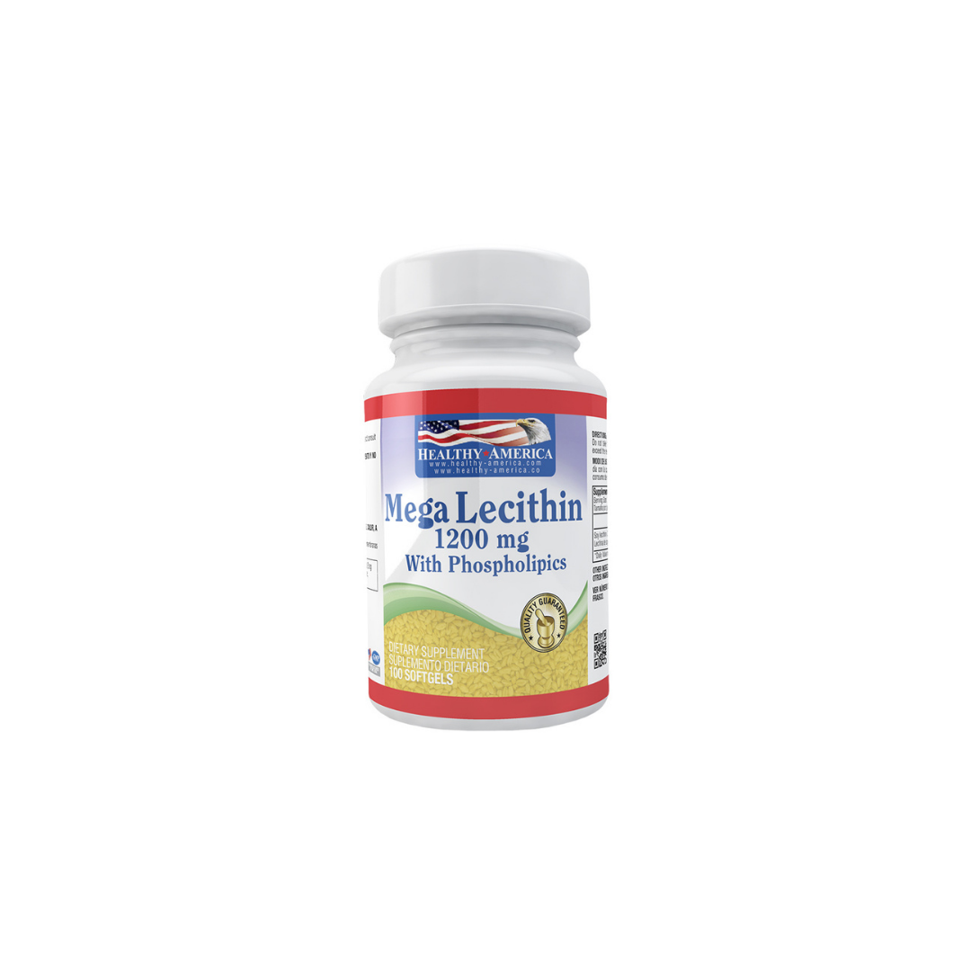 Mega Lecithin 1200 mg 100 sof