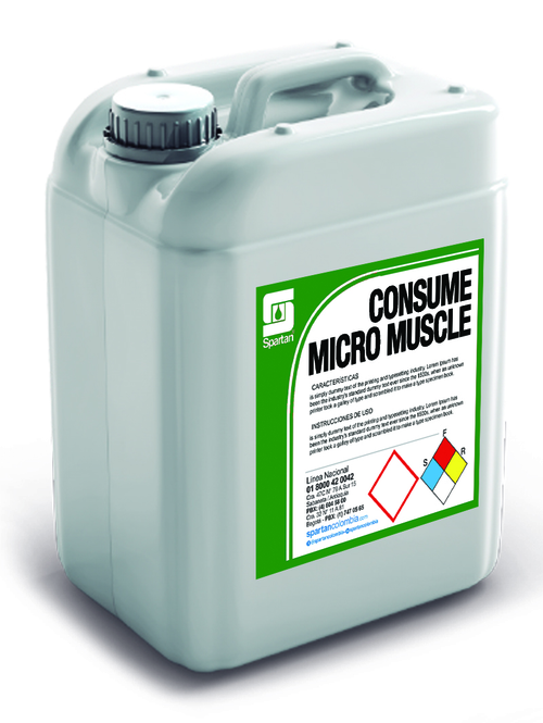 CONSUME MICRO MUSCLE 5 GALONES