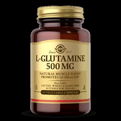 L Glutamine 500 mg 50 cap