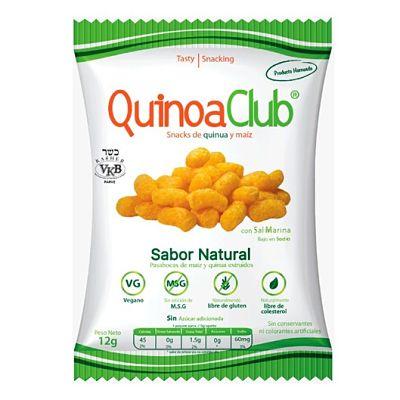 Snacks de Quinoa y Maíz