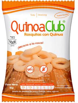 Rosquitas quinua  12 gr
