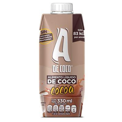 Leche de Coco con Cocoa - 330 ml