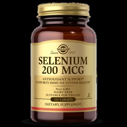 Selenium 200 mcg 100 tab SG