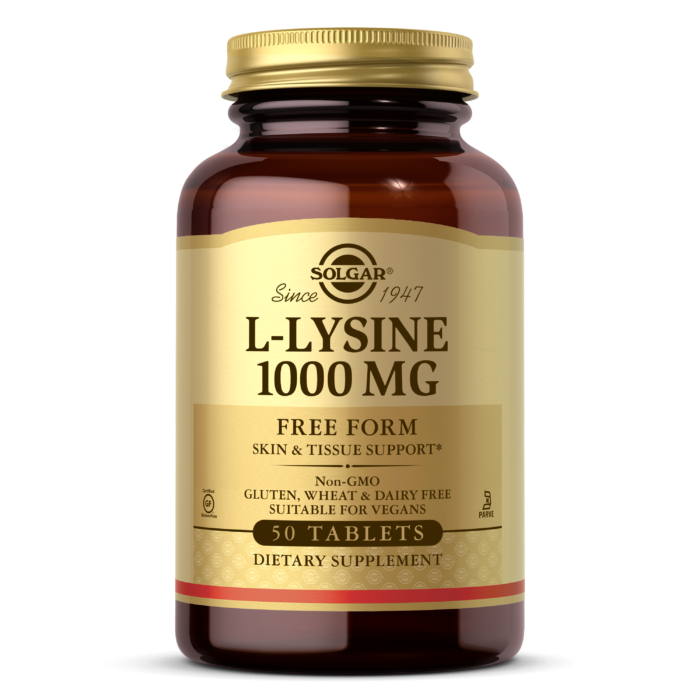 L Lysine 1000 mg  50 tab