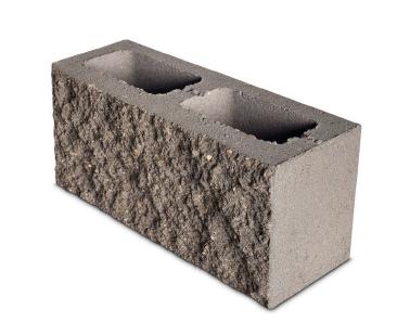 Bloque de Concreto Split 14X19X39 Estructural Fachadas