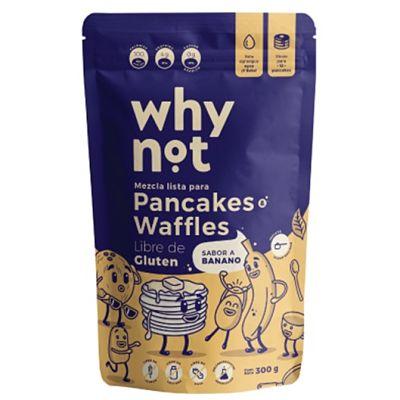 Mezcla Lista para Pancakes o Waffles Sabor a Banano