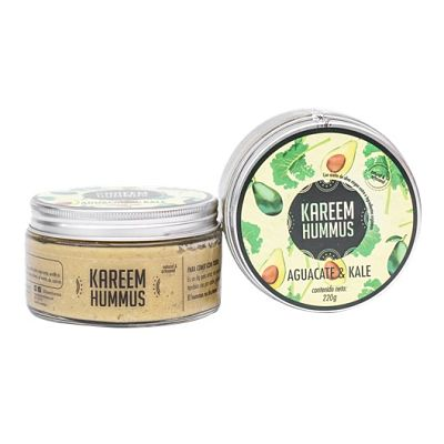 Hummus sabor Aguacate y Kale