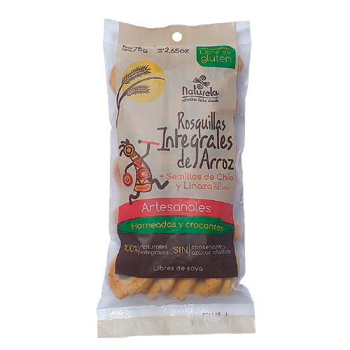 Rosquillas int arroz chia lina  75 gr