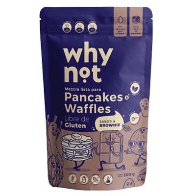 Mezcla Lista para Pancakes o Waffles Sabor a Brownie