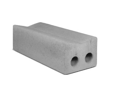 Bloque de cemento A 120 Cañuela