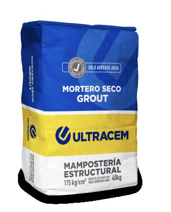 Mortero Seco  GROUT   ULTRACEM  40 Kilos