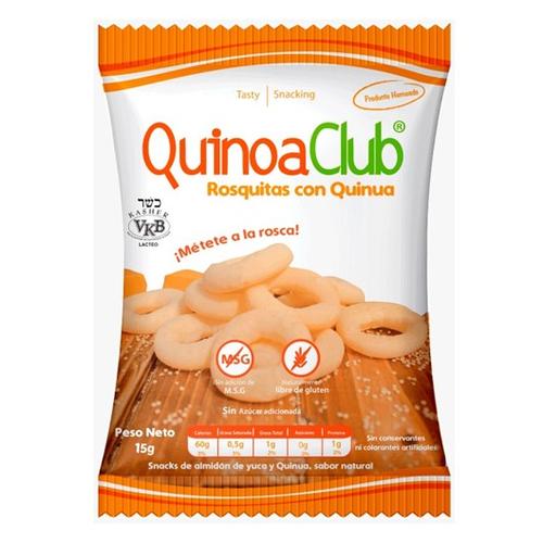 Rosquitas con Quinoa