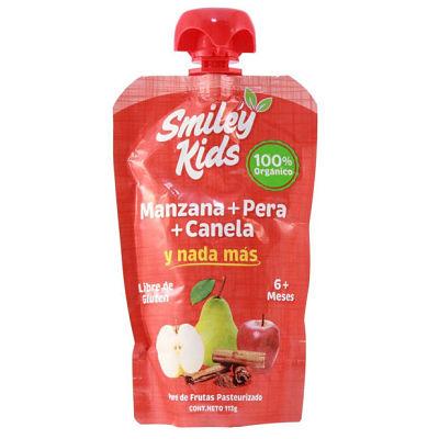 Smiley Kids Manzana + Pera + Canela