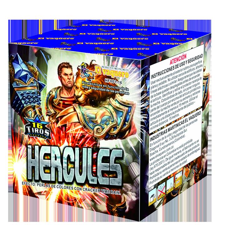 Torta hercules 16 tiros 0.8