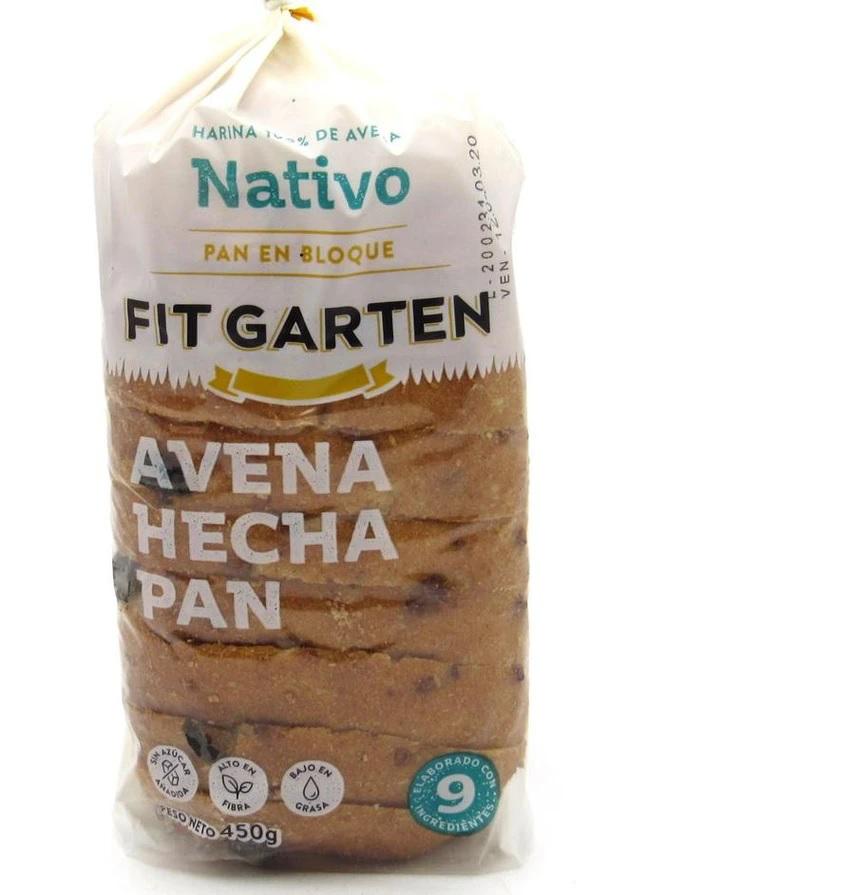 Pan nativo bloque  450 gr