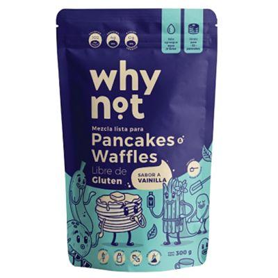 Mezcla Lista para Pancakes o Waffles Sabor a Vainilla