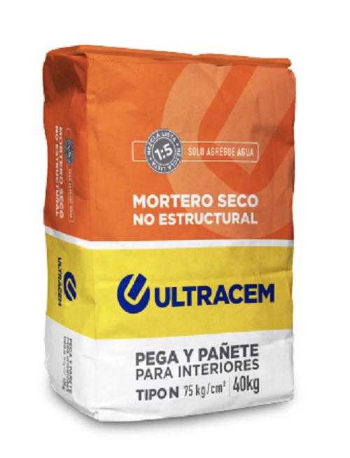 Mortero Seco No Estructural  Tipo N  ULTRACEM 40 kilos