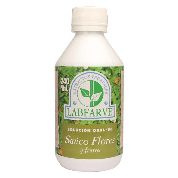 Sauco flores jarabe   240 ml