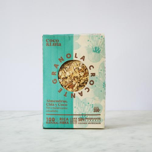 Granola Almendras y chía