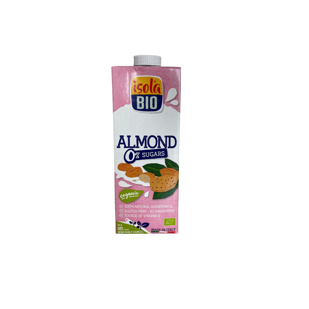 Bebida almendras Isolabio  1 lt
