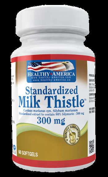Milk thistle 300 mg 60 sof
