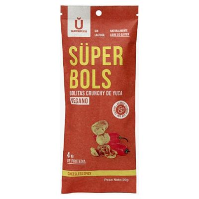 Super Bols - Crunchy de yuca Vegano