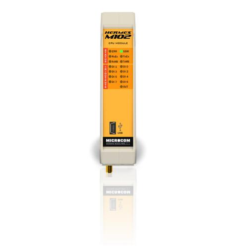 Hermes M102 2G Módulo Maestro GSM/GPRS:8ED,4EA,1SD,Modbus