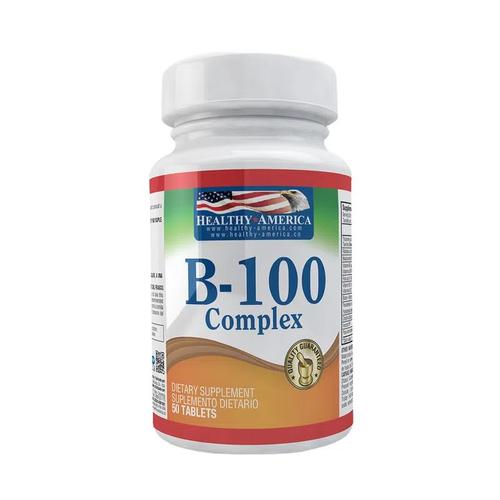 B 100 complex  50 cap