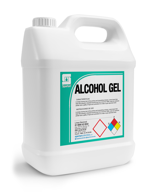 ALCOHOL GEL GALON