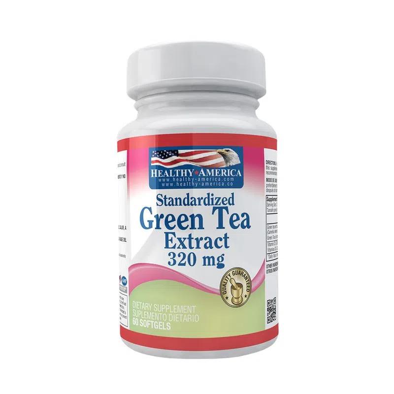 Green tea extract  320 mg  60 sof